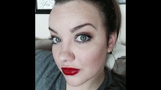 Smoky Eye and Red Lip Thumbnail