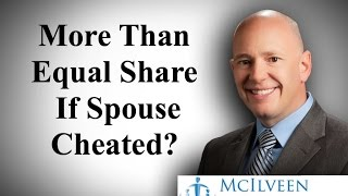 North Carolina Divorce Laws Adultery - More Than Equal Share If Spouse Cheated?