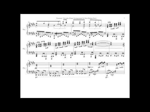 [Sheet Music] Vicetone - Nevada (feat. Cozi Zuehlsdorff) - Piano Cover by Kim Hoàng Huy
