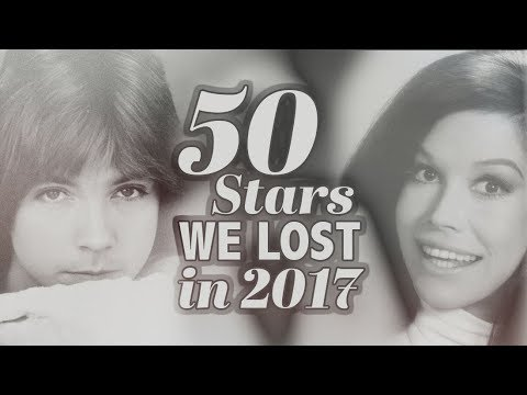 50 Stars We Said Goodbye To in 2017