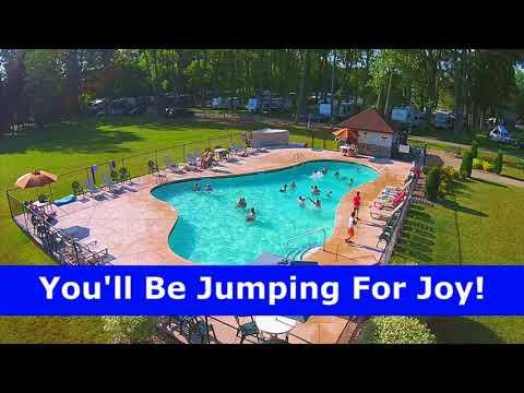 Niagara Falls Camping Has Canadians Jumping For Joy!