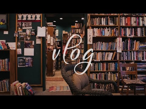 Bookstore Vlog | Visit Reston Used Book Shop