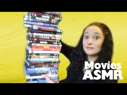*ASMR* Huge DVD Haul! (3 parts in 1, July 2016) | Amy McLean
