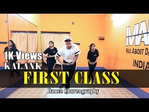 First Class - Kalank | Varun D, Alia B & Madhuri | Subhankar Dutta Dance Choreography