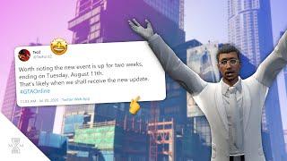 Did Rockstargames Just Announced The New Gta Dlc Release Date?  Gta Online