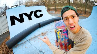 Vert Skaters are ANGRY About NYC'S NEWEST SKATEPARK