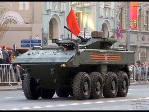 БТР Бумеранг бронетранспортер ВПК 7829 обзор 2016