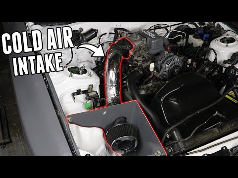 Custom Cold Air Intake! - FC RX7