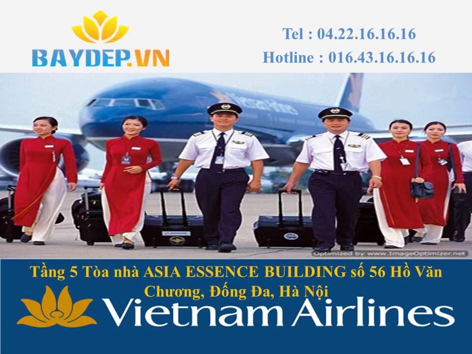Báo giá vé máy bay Vietnam Airlines Hà Nội Sài Gòn rẻ, bảng giá Vietnam Airlines