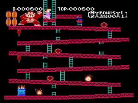 Donkey Kong NES PAL vs NTSC
