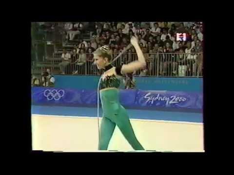 Eva SERRANO (FRA) rope - 2000 Sydney Olympics AA