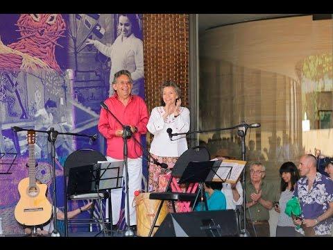 Isabel y Ángel Parra en concierto - Museo Violeta Parra (2015)