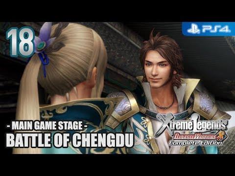 DW8XL Complete Edition 【PS4】 Jin Story #18 │ Battle of Chengdu