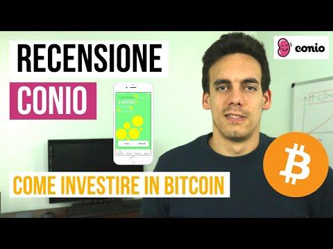 📱 RECENSIONE APP CONIO: Come Comprare BITCOIN! ₿