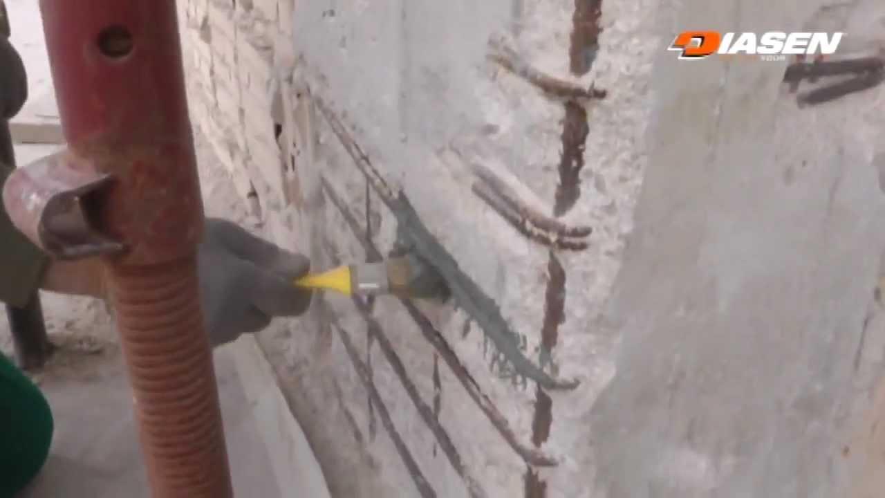 Sistema risanamento cemento armato by diasen youtube