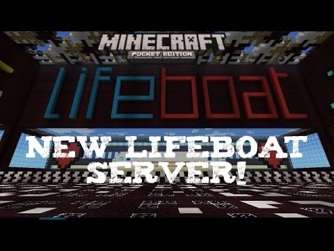 Lifeboat Survival Games  Minecraft PE server