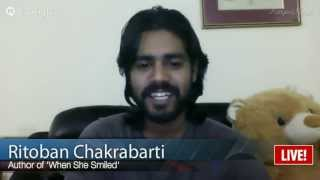 Ritoban Chakrabarti Author Of When She Smiled