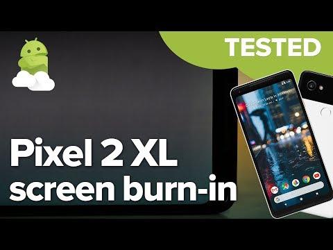 Google Pixel 2 XL: Screen burn-in impressions + test