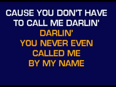 David Allan Coe - You Never Even Called Me By My Name karaoke