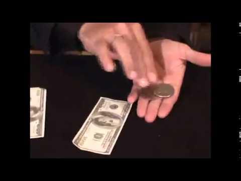 Saturn Magic -Flipper Coin PRO Gravity Half Dollar/English Penny - Tango - Trick (D0101)