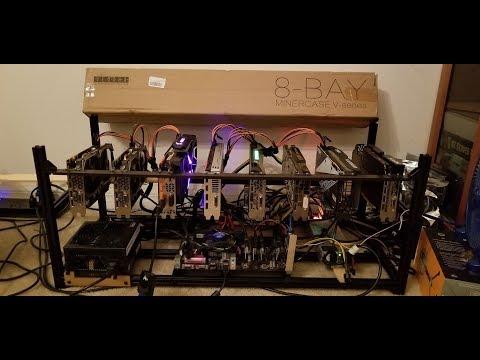Veddha 8 GPU Stackable Miner Frame