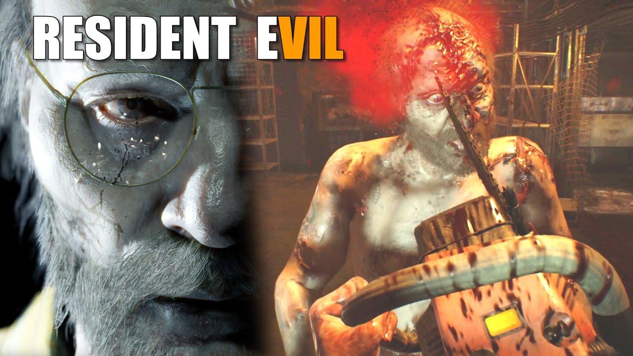 Resident Evil 7 Jack Never Dies Jack Baker Chainsaw Boss Fight