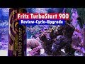 Fritz Turbo Start 900 Review - aquarium cycle and Reef Tank Transfer /  upgrade!