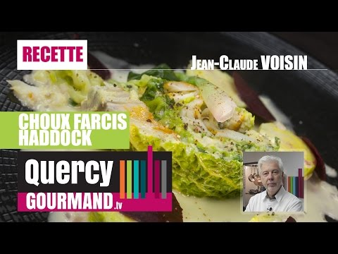 Recette : Choux farcis haddock – quercygourmand.tv
