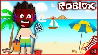 ROBLOX Indonesia #208 Mining Simulator | Update the new MAP to Pantai SULTAN