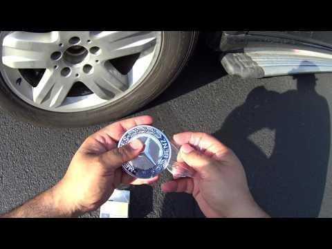 Mercedes Benz Wheel Center cap Installation or Replacement