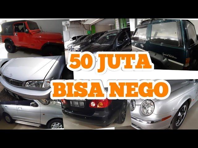 Mobil 50 Jutaan Ada Banyak Pilihan Lain Ini Daftar Harga Mobkas Jaya Baru Depok Youtube