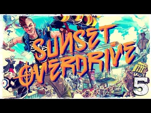 Смотреть прохождение игры [Xbox One] Sunset Overdrive. #5: Выше и выше.