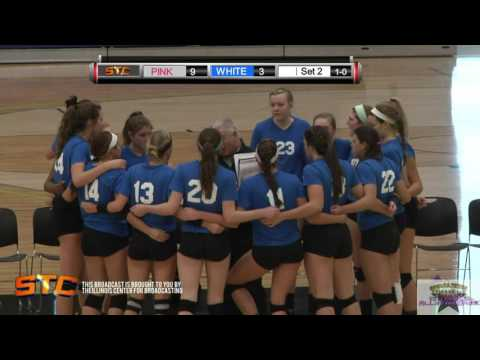 Set 2 HD 6th annual Illinois Volleyball ALL STAR GAME 12.6.15