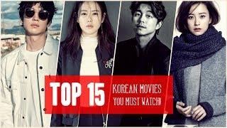 Top 15 Korean Movies You Must Watch!