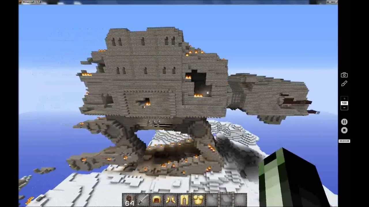Скачать Minecraft Звездные Войны