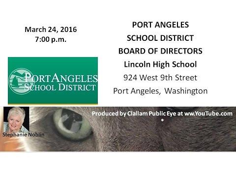 2016 03 24 PASD Board of Directors Meeting