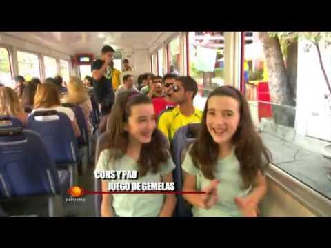 Juego de gemelas en el Mundial Brasil 2014 - YouTube