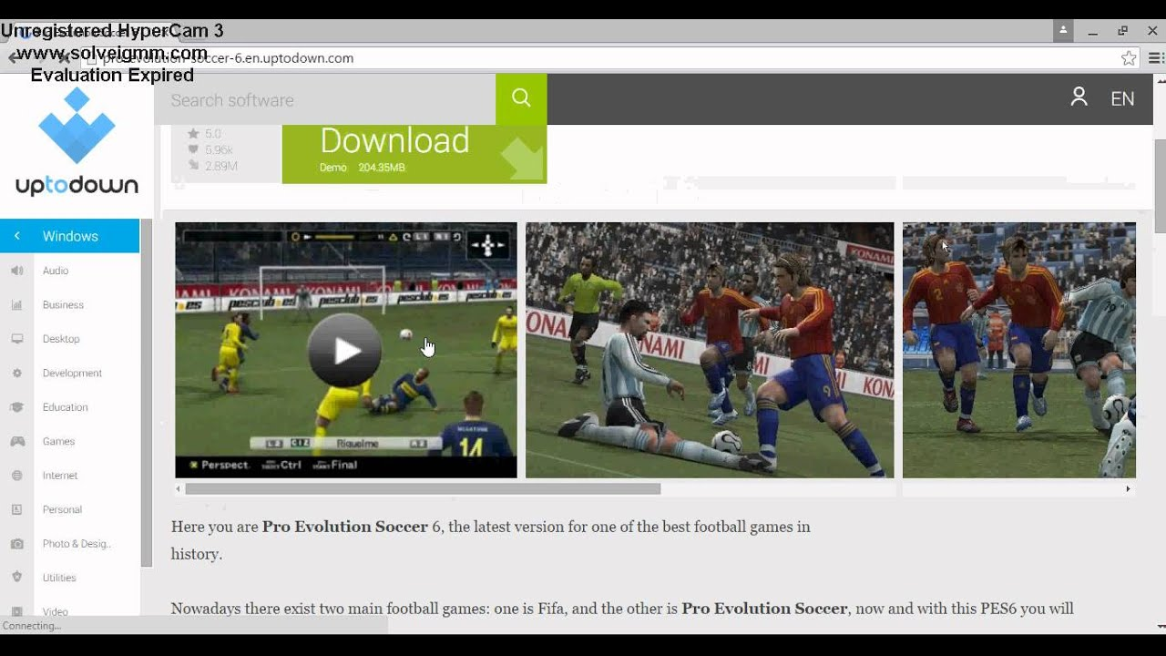 How to download Pes 2006 free ||2016|| - YouTube