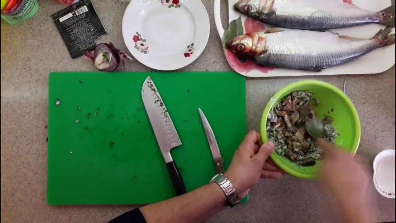 Солим рыбу:каспийский залом +спред из сайры