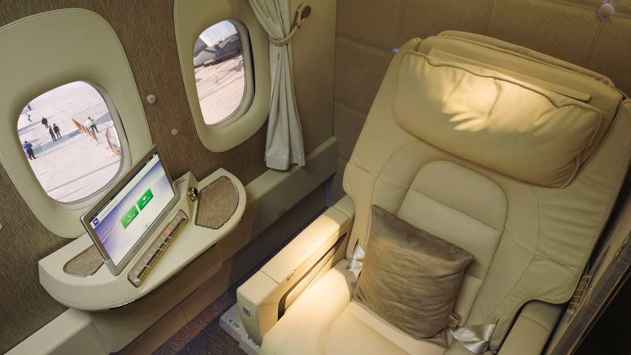 Inside emirates airlines 39 new first class suites cnbc for First class suite airline