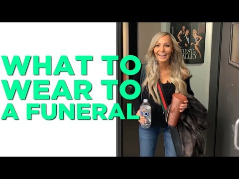In-Studio Videos - Is There A Dress Code For Funerals?