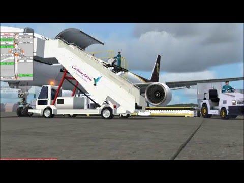UPS B757 GSX Cargo Flight