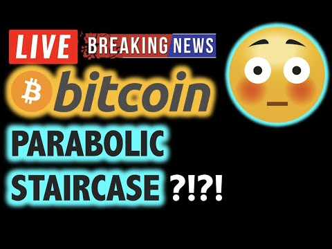 BITCOIN 💥PARABOLIC STAIRCASE Theory? 💥❗️LIVE Crypto Analysis TA & BTC Cryptocurrency Price News