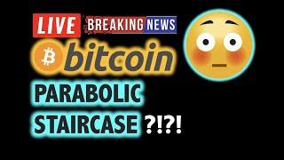 BITCOIN 💥PARABOLIC STAIRCASE Theory? 💥❗️LIVE Crypto Analysis TA & BTC Cryptocurrency Price News