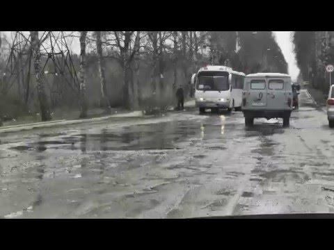 Канализационные стоки заливают улицы Дегтярска