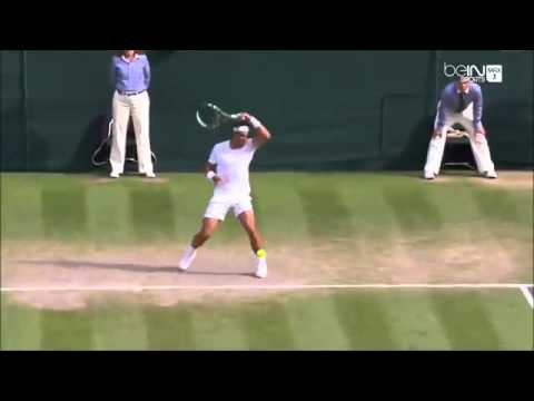 Nick Kyrgios' Trick Shot Against Rafael Nadal