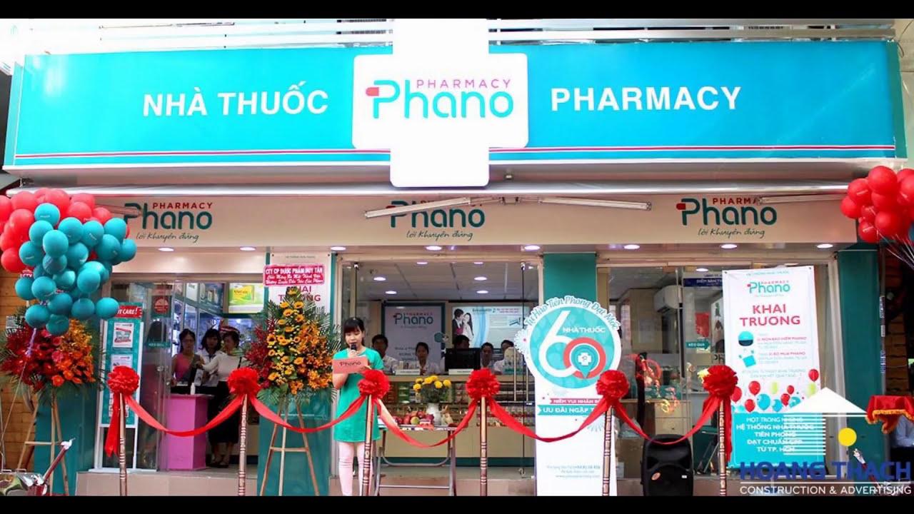 Thiết kế thi công bảng hiệu nhà thuốc – Mẫu thiết kế nhà thuốc đẹp – làm bảng quảng cáo nhà thuốc