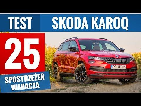 Skoda Karoq 2.0 TSI 190 KM DSG Sportline (2019) - TEST PL