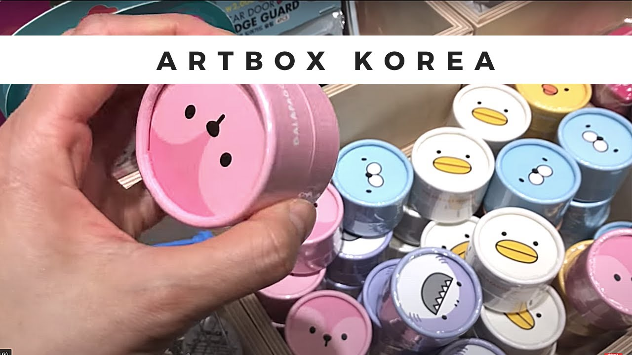 7a80ec06fc2 Watch this Before Visiting the Best Artbox Store in the World in ...