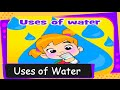 Short story on the uses of water  for kids - English